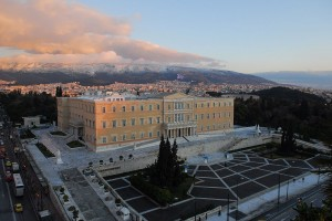 Parlementsgebouw Athene